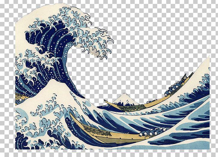 The Great Wave Off Kanagawa Painting TARDIS AllPosters.com.