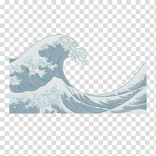 The Great Wave off Kanagawa Japanese art Painting, japan.
