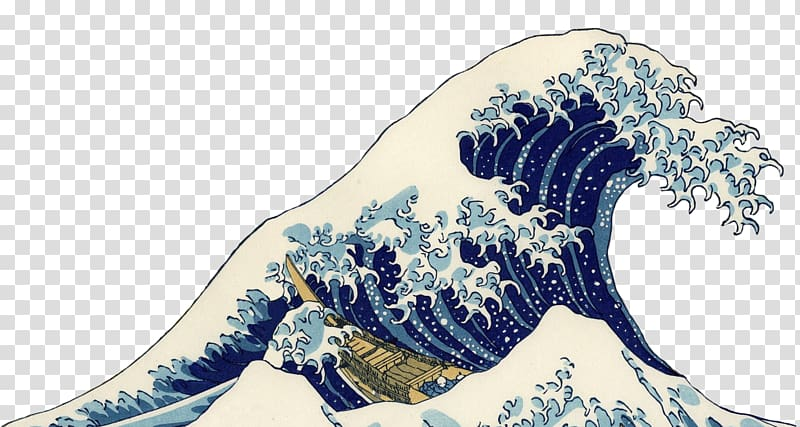 The Great Wave off Kanagawa Thirty.