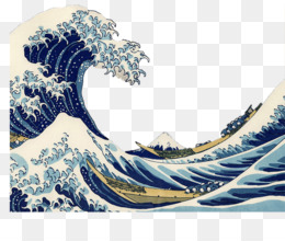 Great Wave Off Kanagawa PNG and Great Wave Off Kanagawa.