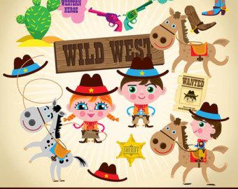 wild west clipart.