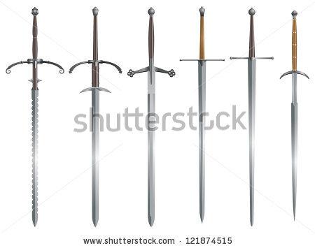 Great Sword Stock Vectors, Images & Vector Art.