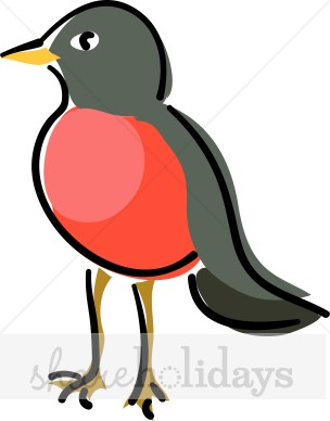 Red Robin Clipart.