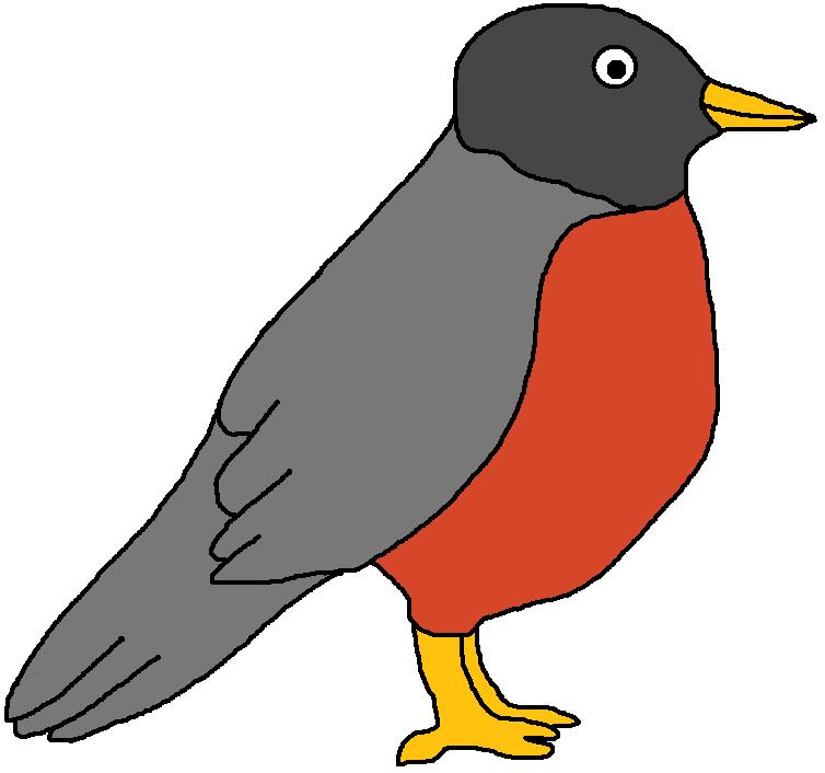 Robin Clip Art.