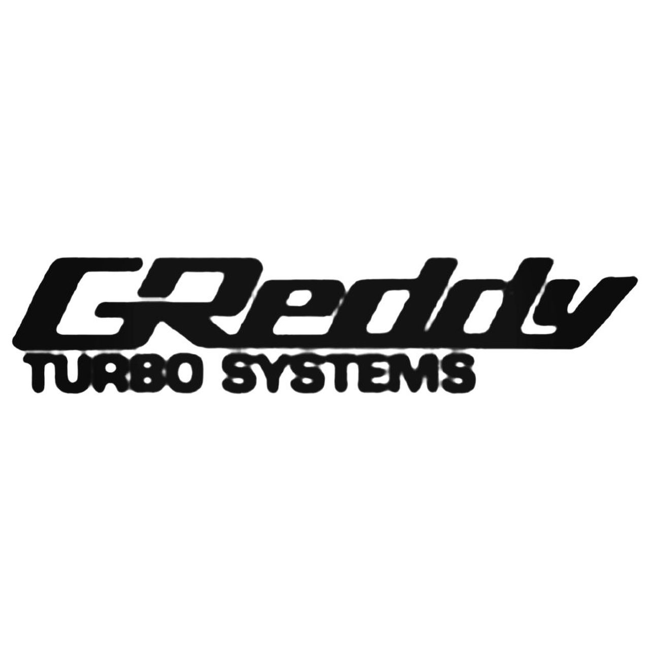 Performance Greddy Turbo Sytems Decal.
