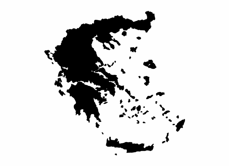 Greece Map Png Vector Free PNG Images & Clipart Download #1522400.