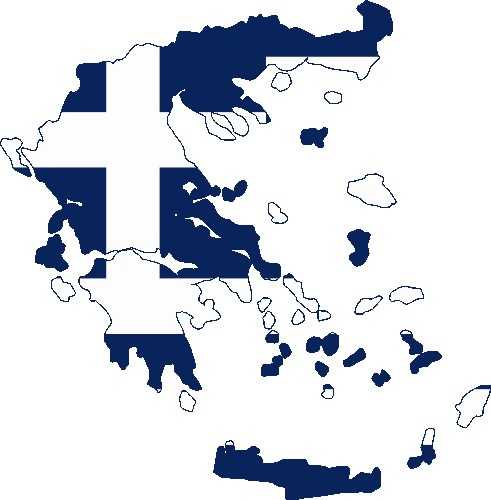 HD Greece Flag And Map Transparent PNG Image Download.