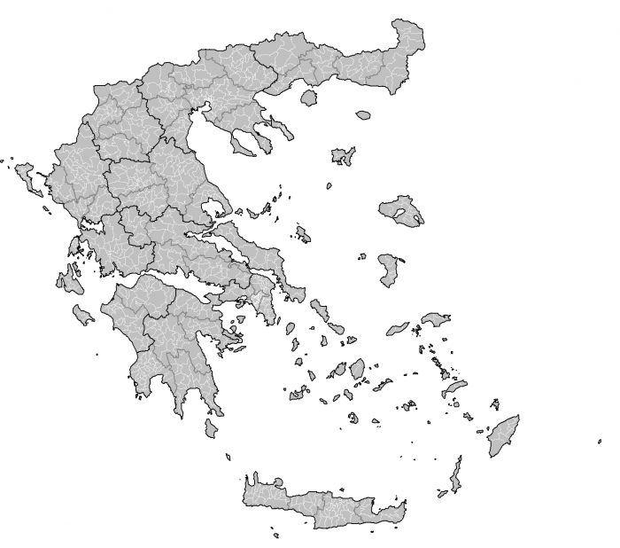 Greece Map Png Vector, Clipart, PSD.
