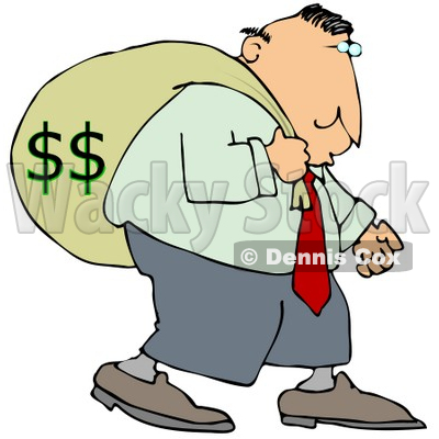 Greed Clipart by Dennis Cox.
