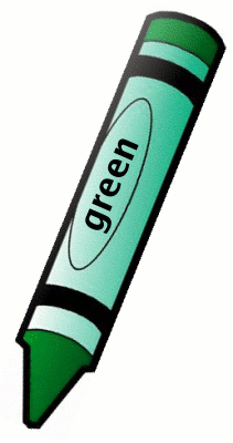 Color green clipart.