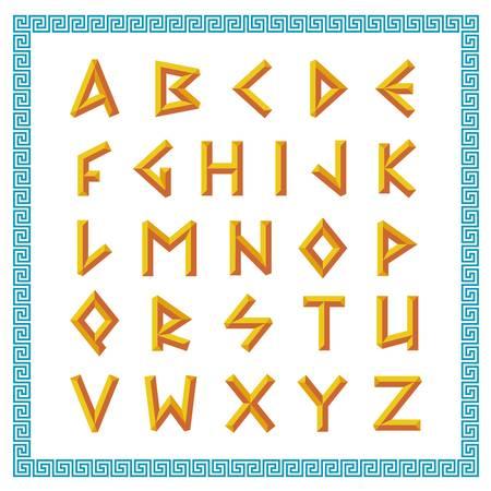 1,557 Greek Alphabet Stock Vector Illustration And Royalty Free.
