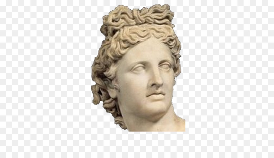 greek statue face png clipart Apollo Statue clipart.