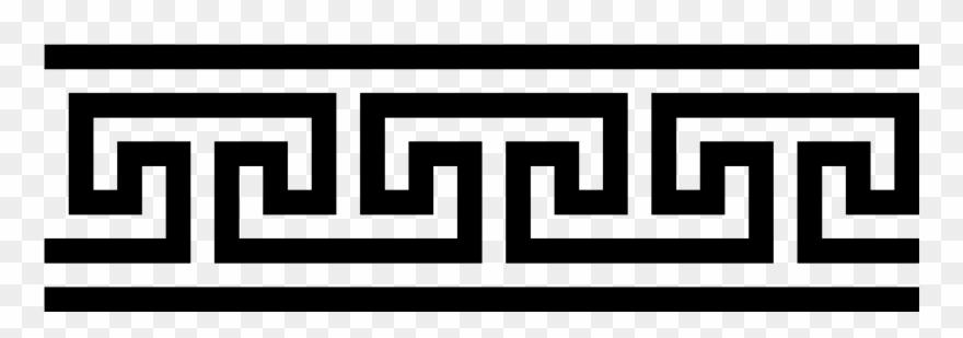 Ancient Greek Meander 5 Clip Art.