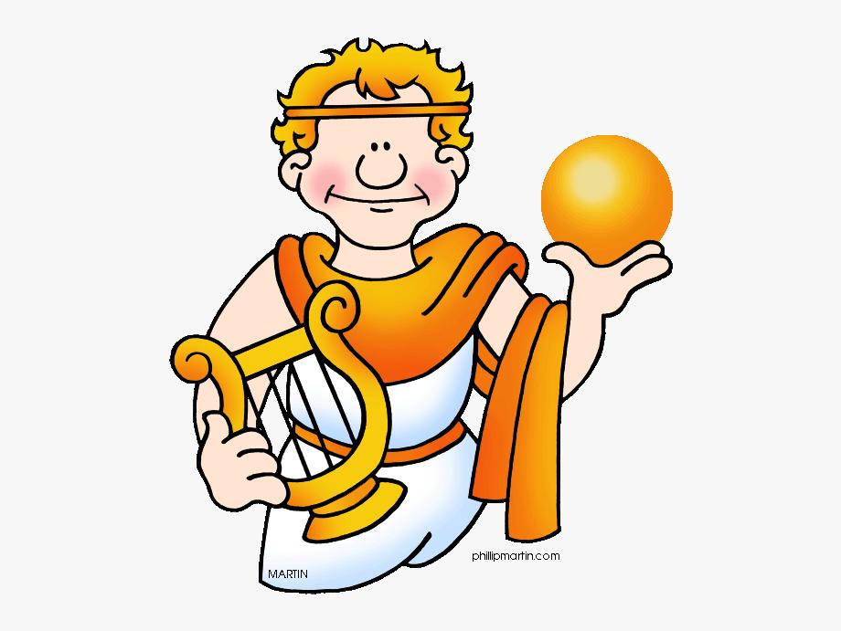 Greek Clipart Apollo God.