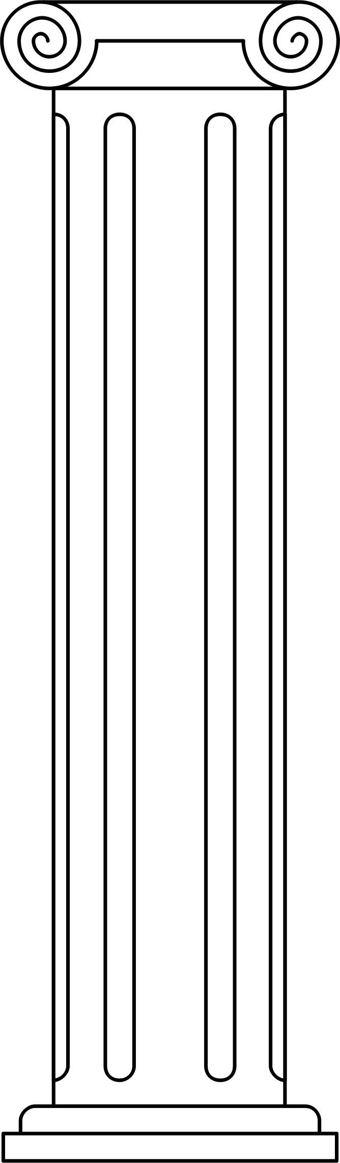 Greek clipart greek pillar, Greek greek pillar Transparent.