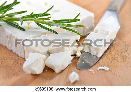 Pictures of Greek feta cheese k9699198.