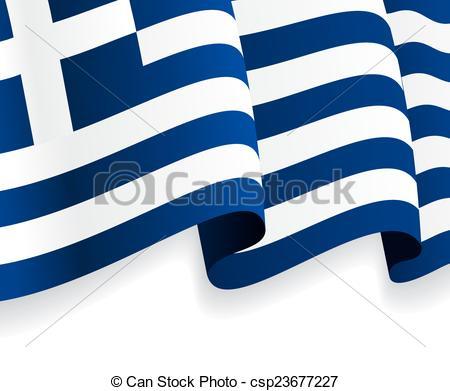 Waving greek flag Vector Clipart Illustrations. 85 Waving greek.