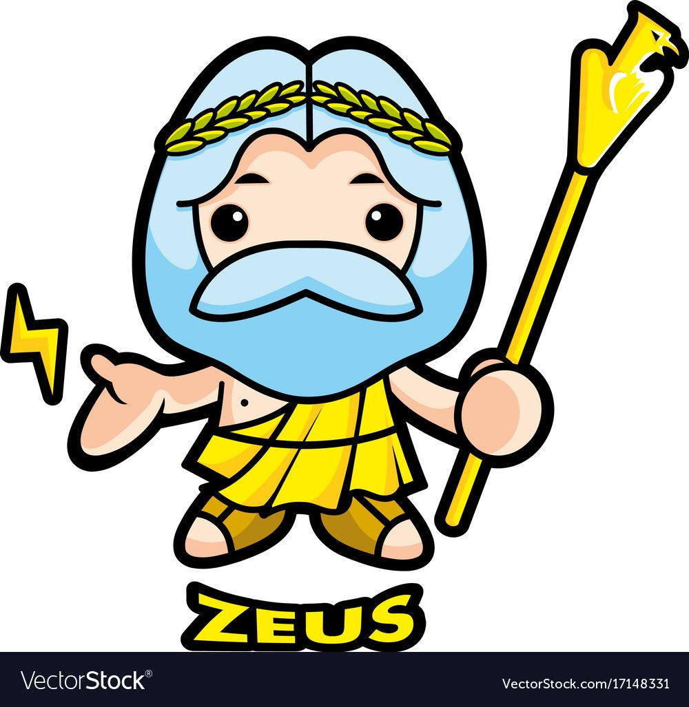 Image result for god clipart picture zeus.