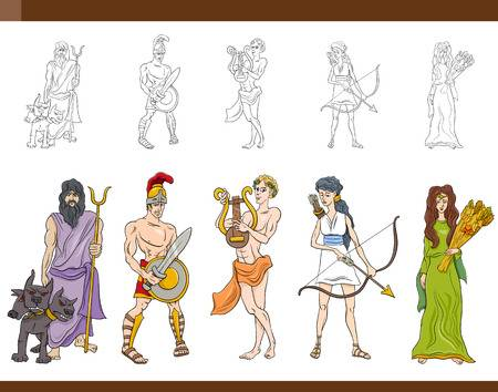 5,190 Greek Mythology Stock Illustrations, Cliparts And Royalty Free.