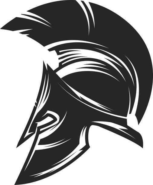 Best Spartan Helmet Illustrations, Royalty.