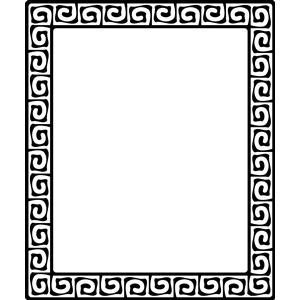 Greek key pattern 2 clipart, cliparts of Greek key pattern 2 free.