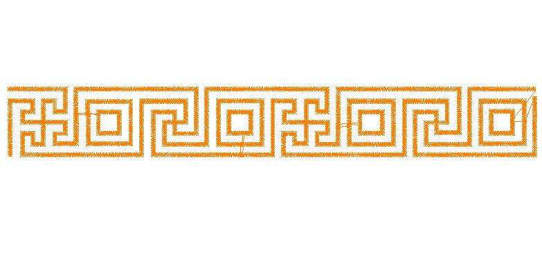Greek Key Design Border Free Download Clip Art.