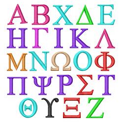 Greek Alphabet.