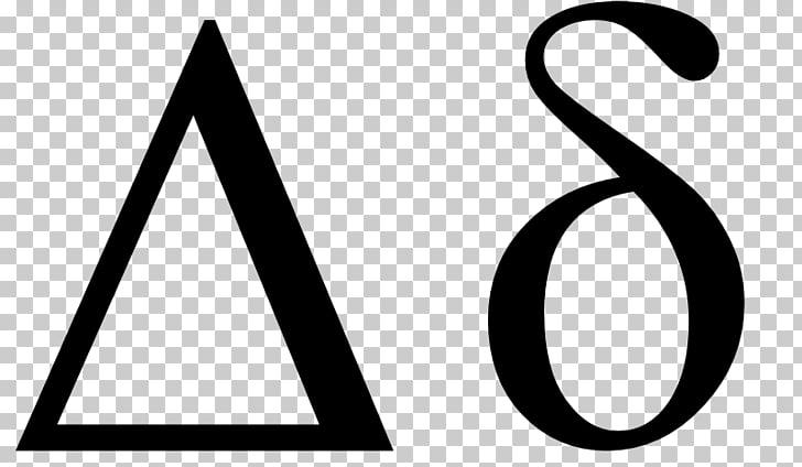 Delta Symbol Greek alphabet Beta Letter, greek letter delta.