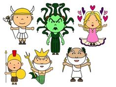 Clipart greek mythology.