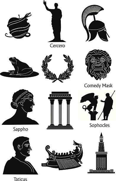 Greek Mythology Clipart & Clip Art Images #13176.