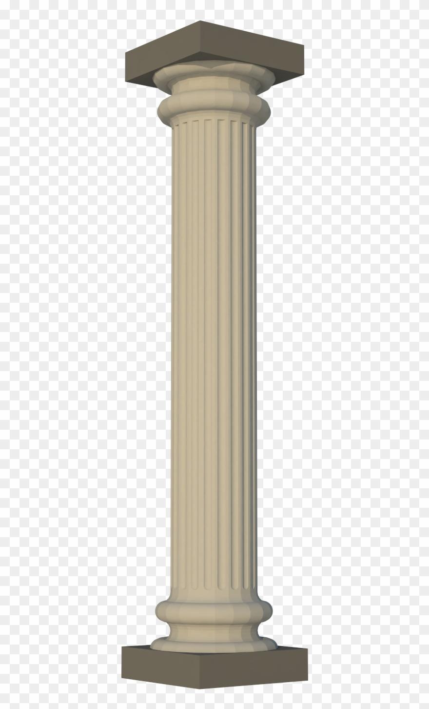 Greek Pillar Dustynus Thingiverse Png Fancy Pillar.