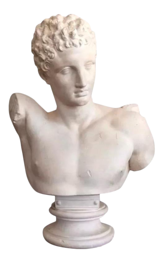 Greek Bust Png.