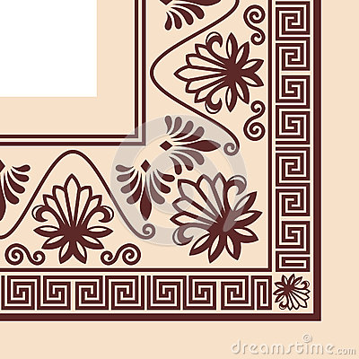 Vector Greek Ornament. Stock Vector.