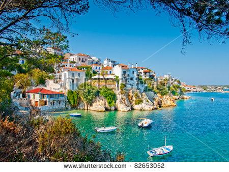Greek Islands Stock Photos, Royalty.