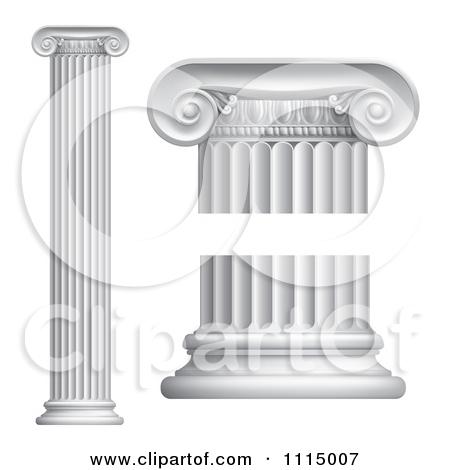 3d Greek Or Roman Columns Posters, Art Prints by.