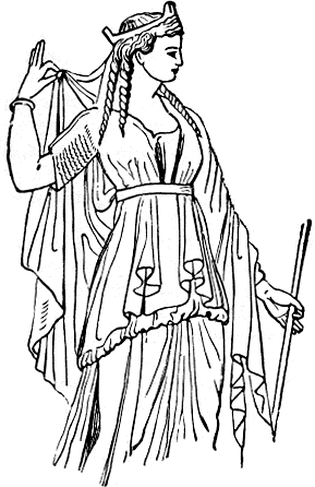 Greek Woman Clipart Clipground