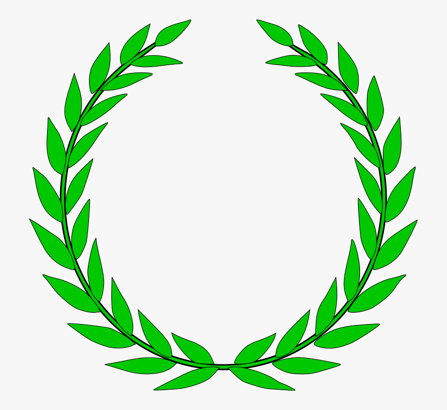 Olive Wreath Greek Wedding Clipart And Featured Illustration.