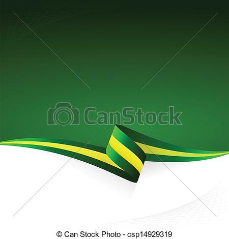 Vector Clip Art of Green yellow green.