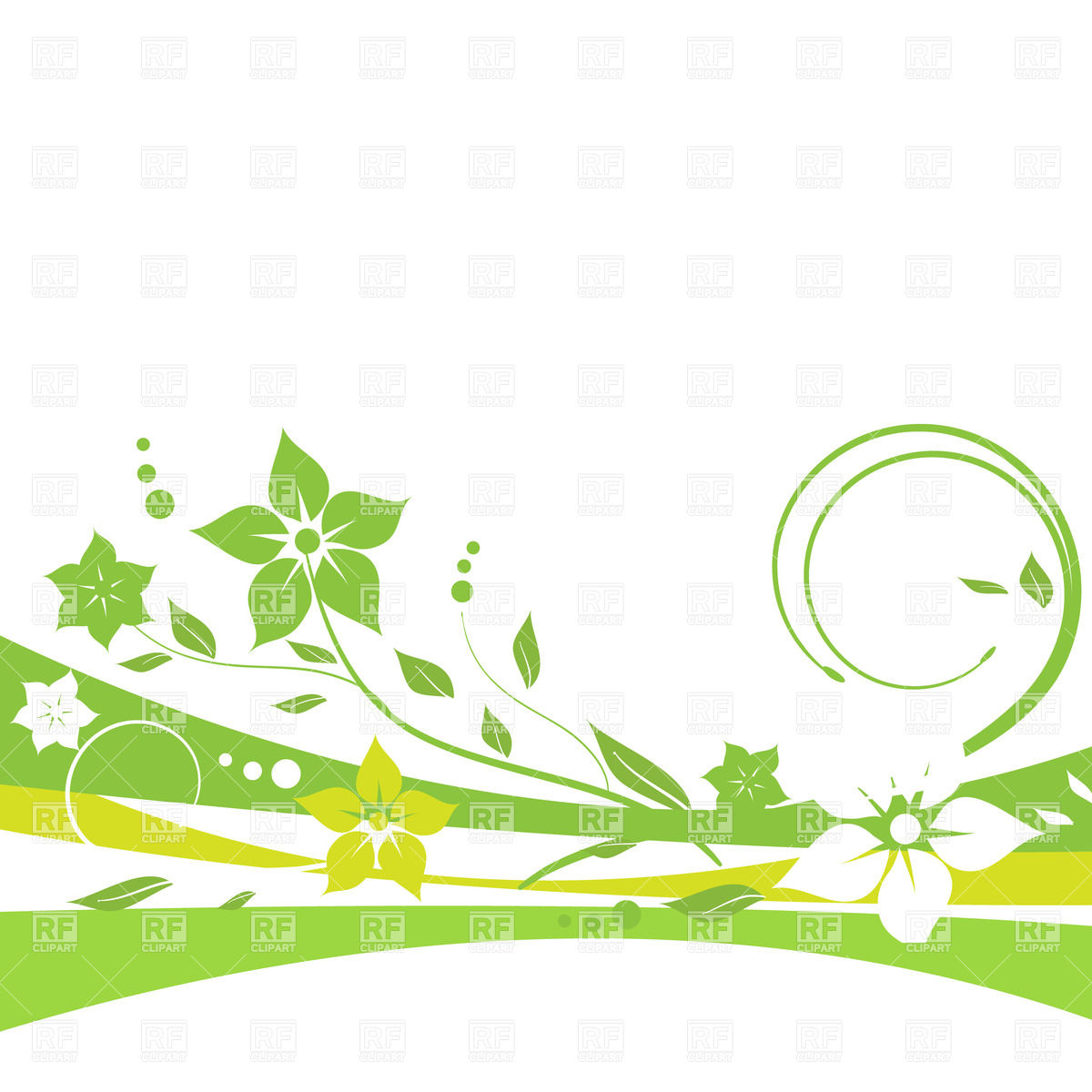 Free Clipart Abstract Lines Green And Purple.