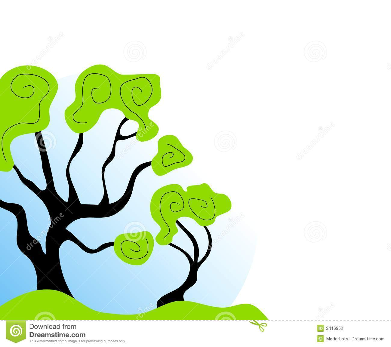 Green abstract clipart hd.