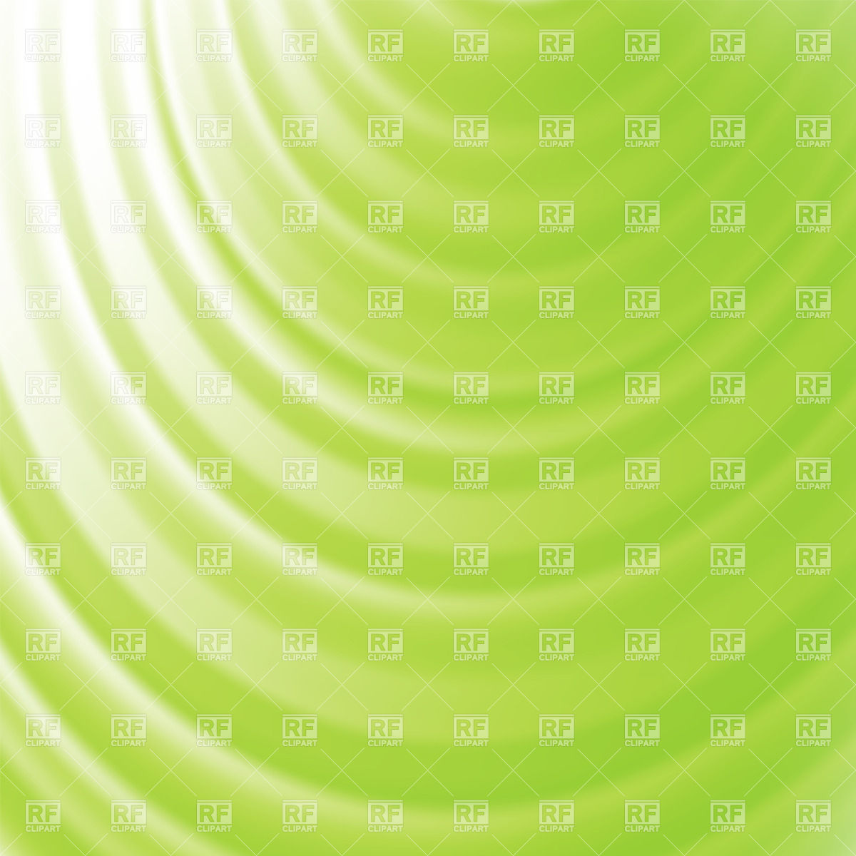 Green abstract background with radial radiance Vector Image #39262.