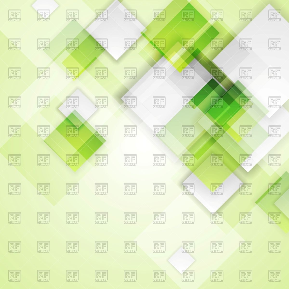 Light green abstract background with squares Vector Image #92154.