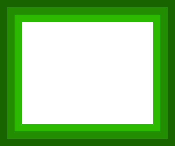 Green and white clipart #18