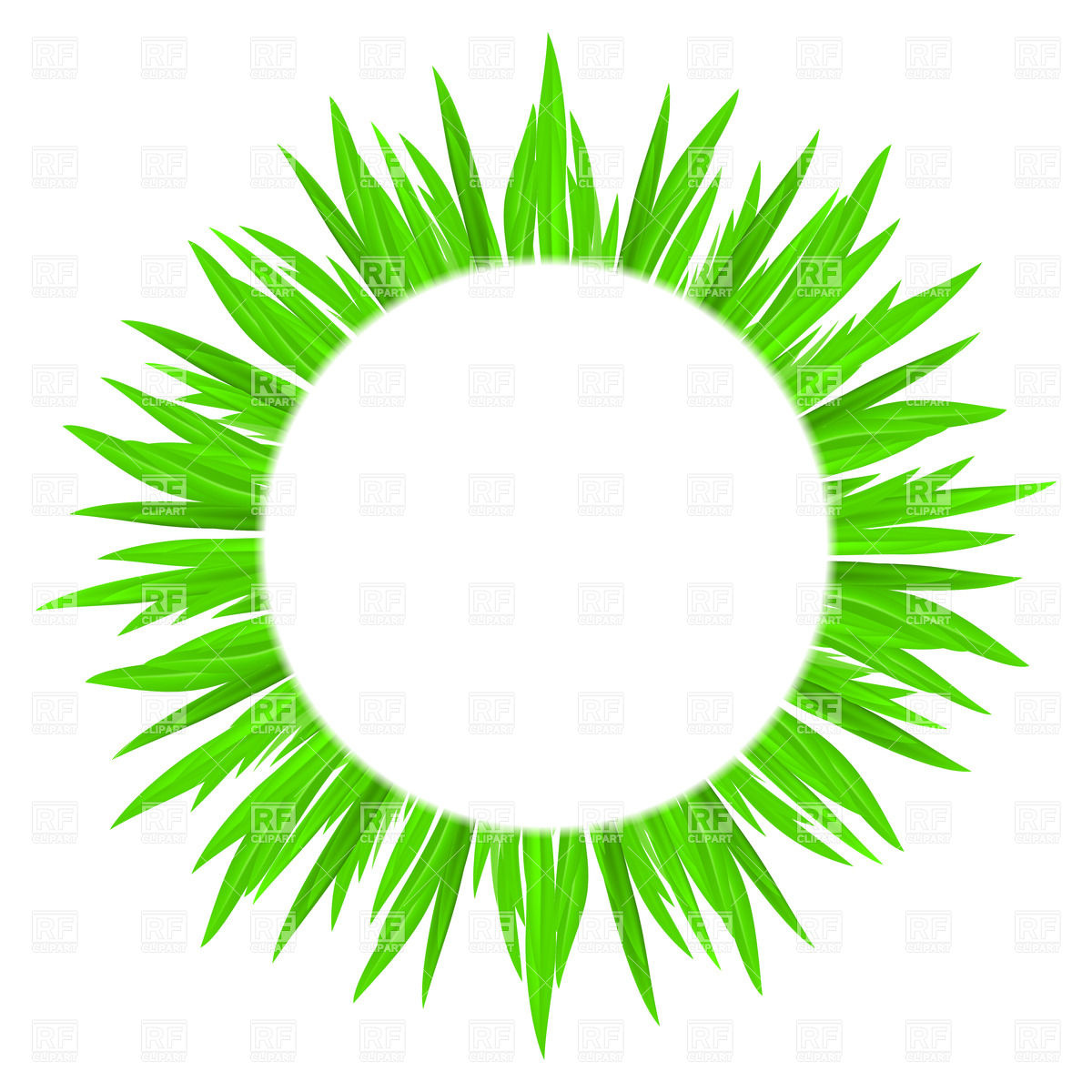 White Circle Clipart.