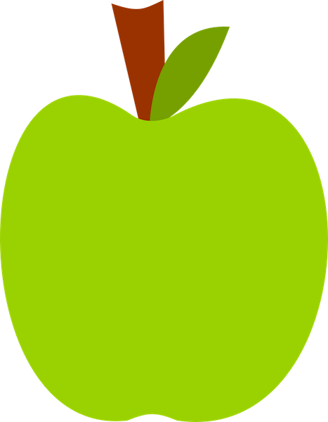 Green Apple Clipart.