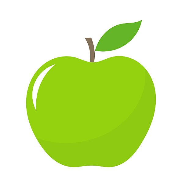 511 Green Apple free clipart.
