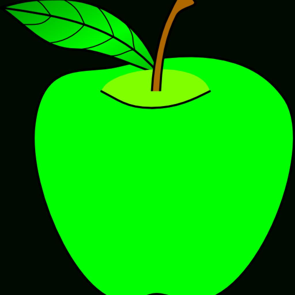 Clip Art Openclipart Apple Green Image Cartoon Apples.