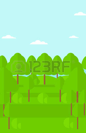 Forest Areas Stock Vector Illustration And Royalty Free Forest.
