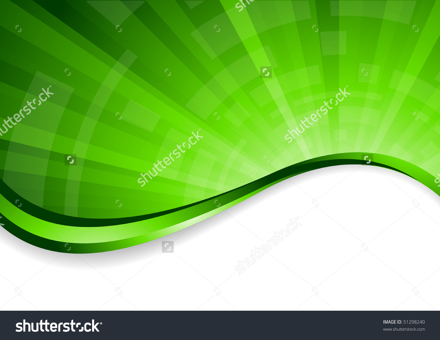 Vector Bright Green Background Clipart Stock Vector 51298240.
