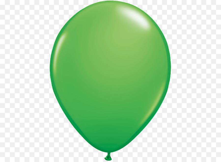 Green Balloons clipart.